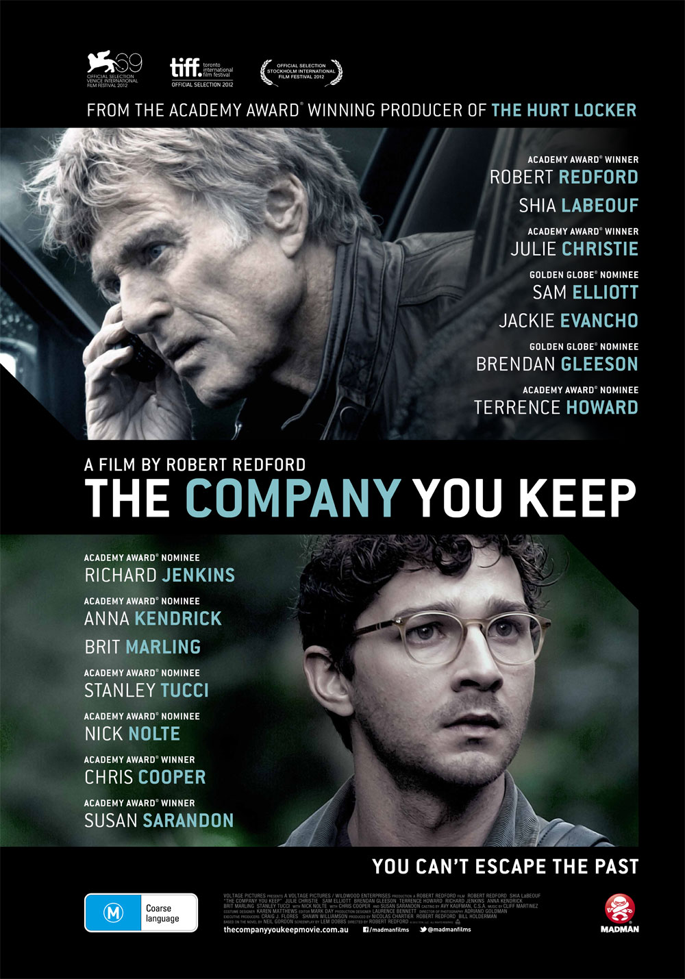 I didn't get tired, I grew up | the-company-you-keep-poster